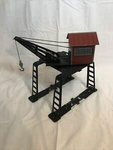 Vintage Tinplate O scale Marx Trains Derrick Crane