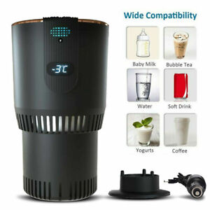 2-In-1 Smart Car Cup Warmer and Cooler 12V Electric Coffee Warmer Beverage Milk