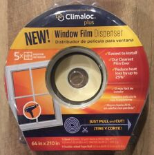 "RCR Climaloc Plus Window Film Dispenser Kit for 5-Windows, 64"" x 210"" Brand New"