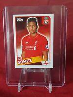 Joe Gomez Liverpool Merlin Premier League 2016 Rookie Sticker