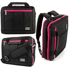 """3-in-1 Messenger Bag Backpack Briefcase for HP Split X2 13-M110DX 13.3"""" Laptop"""