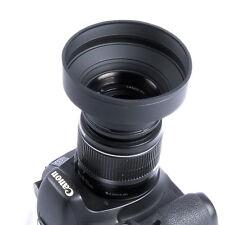 72mm 3-etapa caucho Parasol para Canon Nikon Sony Pentax Olympus DSLR 72MM lens