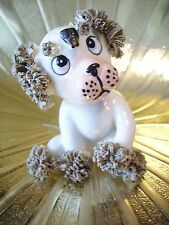 RARE VTG Puppy Dog w/ FLY on Nose Figurine MINT ADORABLE!