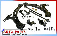 2 CONTROL ARMS 2 BALL JOINTS & 4 TIE RODS TOYOTA CAMRY LEXUS ES300 92-01 AVALON