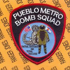 Pueblo Metro Bomb Squad Pueblo Police & Sheriff Office shoulder patch