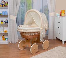 WALDIN Baby Bollerwagen,Stubenwagen XXL NEU !!! Gelb/Beige