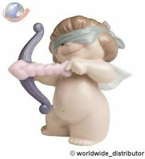 SALE Nao By Lladro Porcelain  AIMING FOR LOVE 020.05063 Worldwide Ship