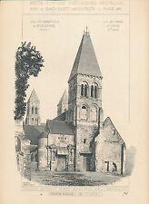 Eglise Abbatiale de MORIENVAL (Oise) 1897 - Raguenet Architecture - 47