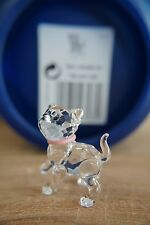 SWAROVSKI 1193537 STANDING KITTEN WITH PINK COLLAR NIB 100% AUTHENTIC