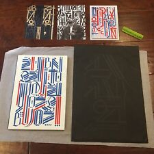 VNA Magazine Very Nearly Almost Issue 20 Retna - RARE #97/150 Screen Print