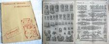 """Catalogue de Bronzes d'Ameublement / Bronzier """"Le Bronzstyl """"/ Années 30-40"""