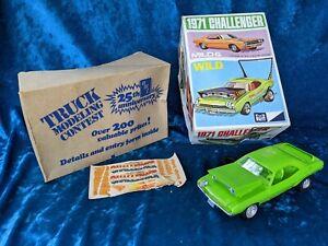 Vintage Mild & Wild 1971 (Dodge) Challenger MPC Model Kit from 1970