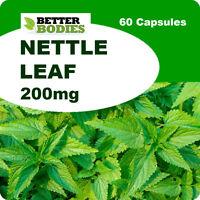 60 Capsule Nettle Leaf 200mg ANTI-HISTAMINE hay fever,eczema,Anti-Inflamatory