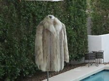 Spotted Lynx Fur Jacket / Coat  One Size