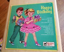 Vintage Vinyl Record album LP Happy Birthday Rocking Horse Records Frere Jacques