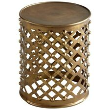 Cyan Design Alden Side Table, Brushed Brass - 8228