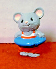 Hallmark Merry Miniatures Mouse Bathing Suit 1989
