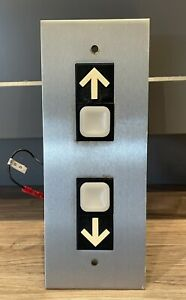 Vintage Dover Elevator Systems Hall Signal Fixture Type M