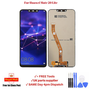 """Display For Huawei Mate 20 Lite Sne-Lx1 6.3"""" Touch Screen Assembly Digitizer OEM"""