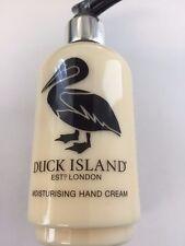 Duck Island  Hand Cream Pump Bottle   Hotel Room Spa Guest Bathroom