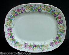 Vintage 1950's Coalport Maytime Pattern Small Serving Platter 28cm Looks in VGC