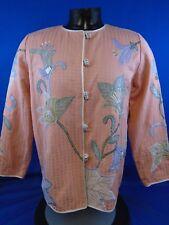 Women's Indigo Moon Jacket Peach Floral M Medium