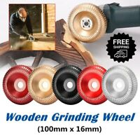 100mm Carbide Wood Sanding Carving Shaping Disc For Angle Grinder Grinding Wheel
