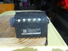 Vtg Redington Counters Inc Model AR Manual Metal 5 Digit Counter