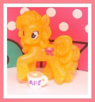 ❤️My Little Pony MLP Blind Bag Glitter SPARKLE Wave 13 Ribbon Heart Figure❤️