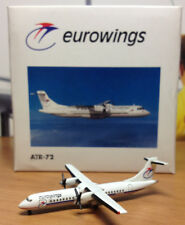 NEW HERPA WINGS 508018 EUROWINGS ATR-72 MIB 1:500 SCALE RARE DIE CAST MODEL MINT