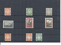 Danzig, Gdansk 1930, Einzelmarken aus MiNrn: 193 - 292 */**, ungebraucht,Auswahl