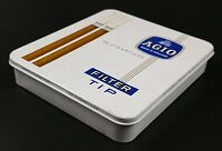 Vintage Agio Brand Cigarillos Empty Tin of 20, Made in Holland