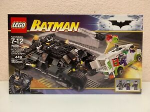 LEGO Batman 7888 The Tumbler: Joker's Ice Cream Surprise 449 pcs NEW SEALED