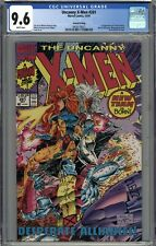 Uncanny X-Men #281 CGC 9.6 NM+ 2nd Print Variant New X-Men Team Begins WHITE
