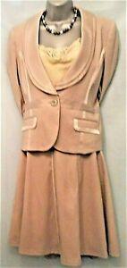 Beige Skirt Suit Mother of the Bride