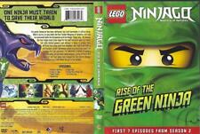 DVD: LEGO NINJAGO RISE OF THE GREEN NINJA