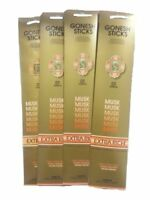 12x Packs Gonesh Classic Incense Sticks Extra Rich - Musk 20 Stick Count Arome