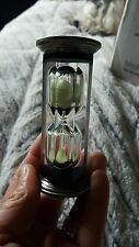 Vintage Gorham Sterling Silver Vintage minute Egg Timer hourglass 411