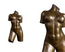 Bronzefigur Skulptur Torso Weiblicher Akt Sign Aristide Maillol 29 cm 3,4 Kg