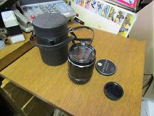 Asahi Super Takumar 135mm F/2.5 MF Lens in Pentax M42 screw mount f2.5 135