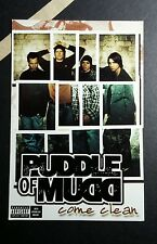 PUDDLE OF MUDD COME CLEAN  PHOTO MUSIC 4x6 MINI POSTER FLYER POSTCARD