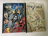 The New Yorker Magazine Lot Of 2  Nov - May  2018   Trump on Cover   free ship