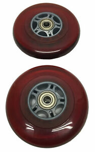 Genuine Razor A2 Kick Scooter Replacement Wheels (Orange)