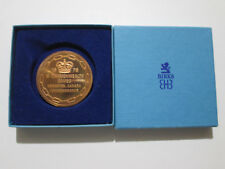 Official Participation Medal XI Commonwealth Game Edmonton Canada 1978