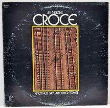 "JIM & INGRID CROCE  ""Another Day, Another Town""  1973 Vinyl LP  Pickwick SPC3332"