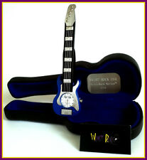 Blue WRISTROCK Stratorock Quartz Guitar Watch: Brand New in Guitar Case