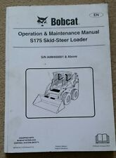 Bobcat S175 Skid Steer Loader operatori MANUALE 2010