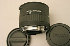 Sigma 2X EX APO Teleconverter. Canon EF Fit