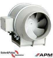 TD 160/100 SILENT S&P Schallgedämmter Rohrventilator Lüfter  S&P bis 180 m3/h
