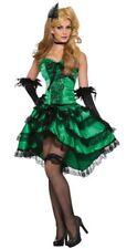 Emerald Saloon Girl - Adult Western Costume